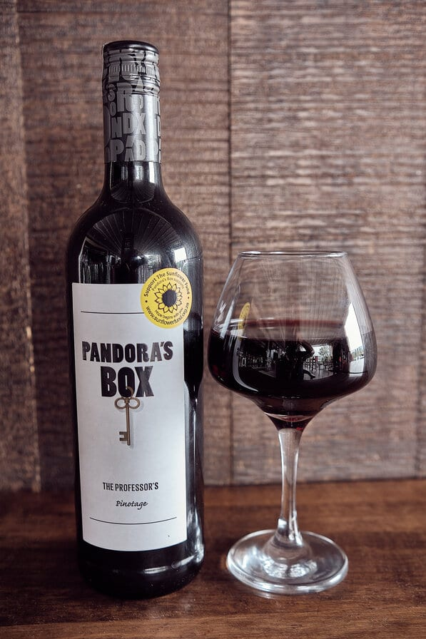 Pandora's box the professor's pinotage (1)