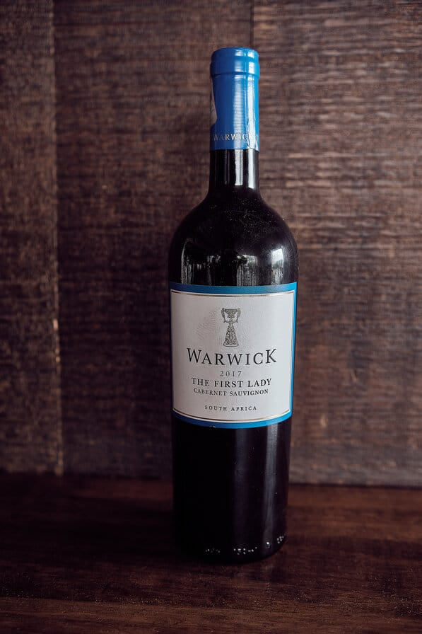 War wick – The First Lady – Cabernet sauvignon (1)